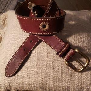 Eddie Bauer leather belt